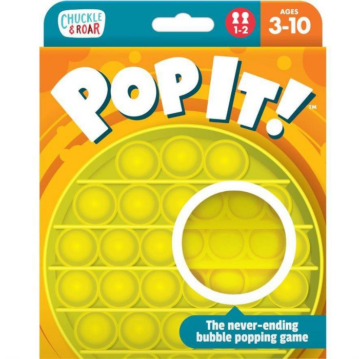 Chuckle & Roar Pop It! - The Take Anywhere Bubble Popping Game : Target