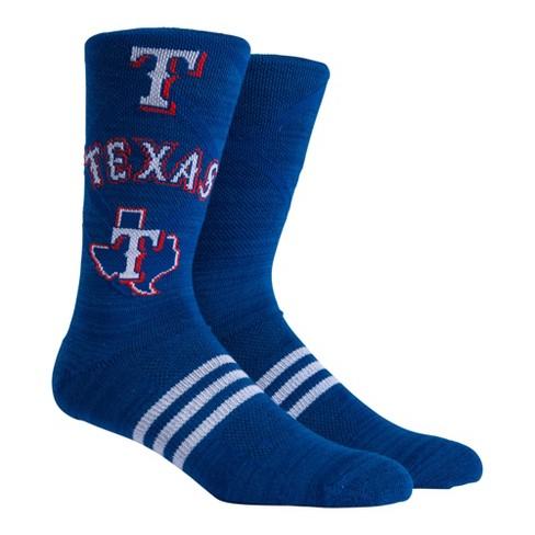 MLB Texas Rangers Stacked Premium Crew Socks - image 1 of 2