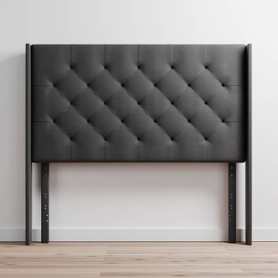 Eva Wingback Upholstered Headboard - Brookside Home