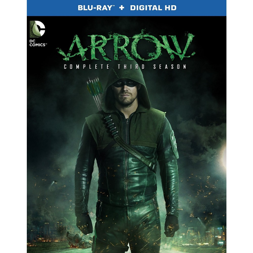 Arrow: The Complete Third Season [Includes Digital Copy] [UltraViolet] [Blu-ray]