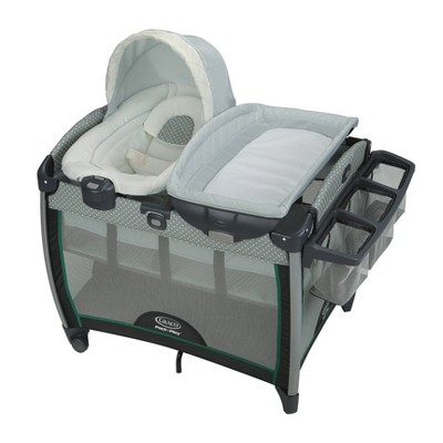 Graco Pack 'n Play Quick Connect Playard with Portable Bouncer - Albie
