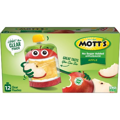 Applesauce: Mott's Unsweetened