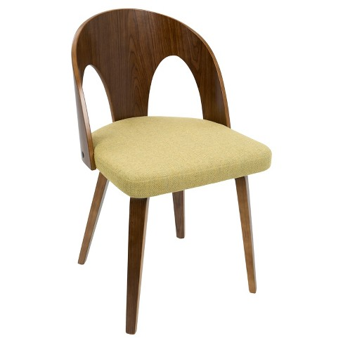 Ava Mid Century Modern Dining Chair - LumiSource - image 1 of 7