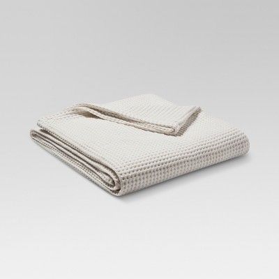 Waffle Weave Blanket (Full/Queen)Natural White - Threshold™