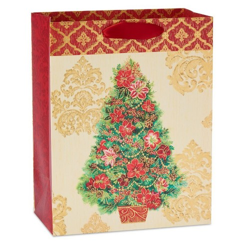 Papyrus Holiday Bloom Large Gift Bag Target