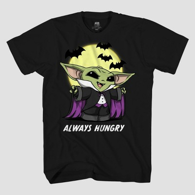 Men's Star Wars The Child Dracula Short Sleeve Graphic T-Shirt - Black
