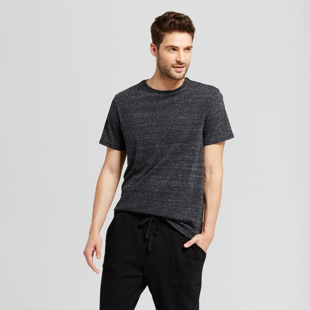 Men's Standard Fit Short Sleeve Crew T-Shirt - Goodfellow & Co Black Xxl