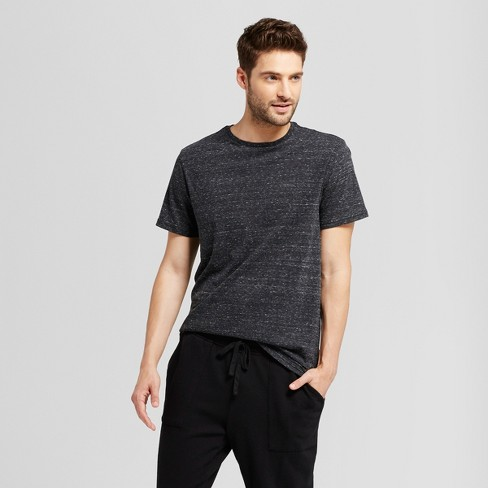 Men's Standard Fit Short Sleeve Crew T-Shirt - Goodfellow & Co™ - Heathered - image 1 of 3