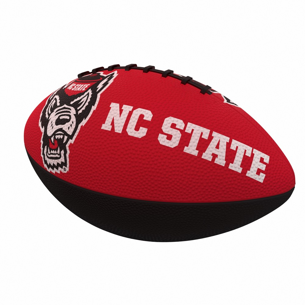 NCAA NC State Wolfpack Combo Logo Junior-Size Rubber Football