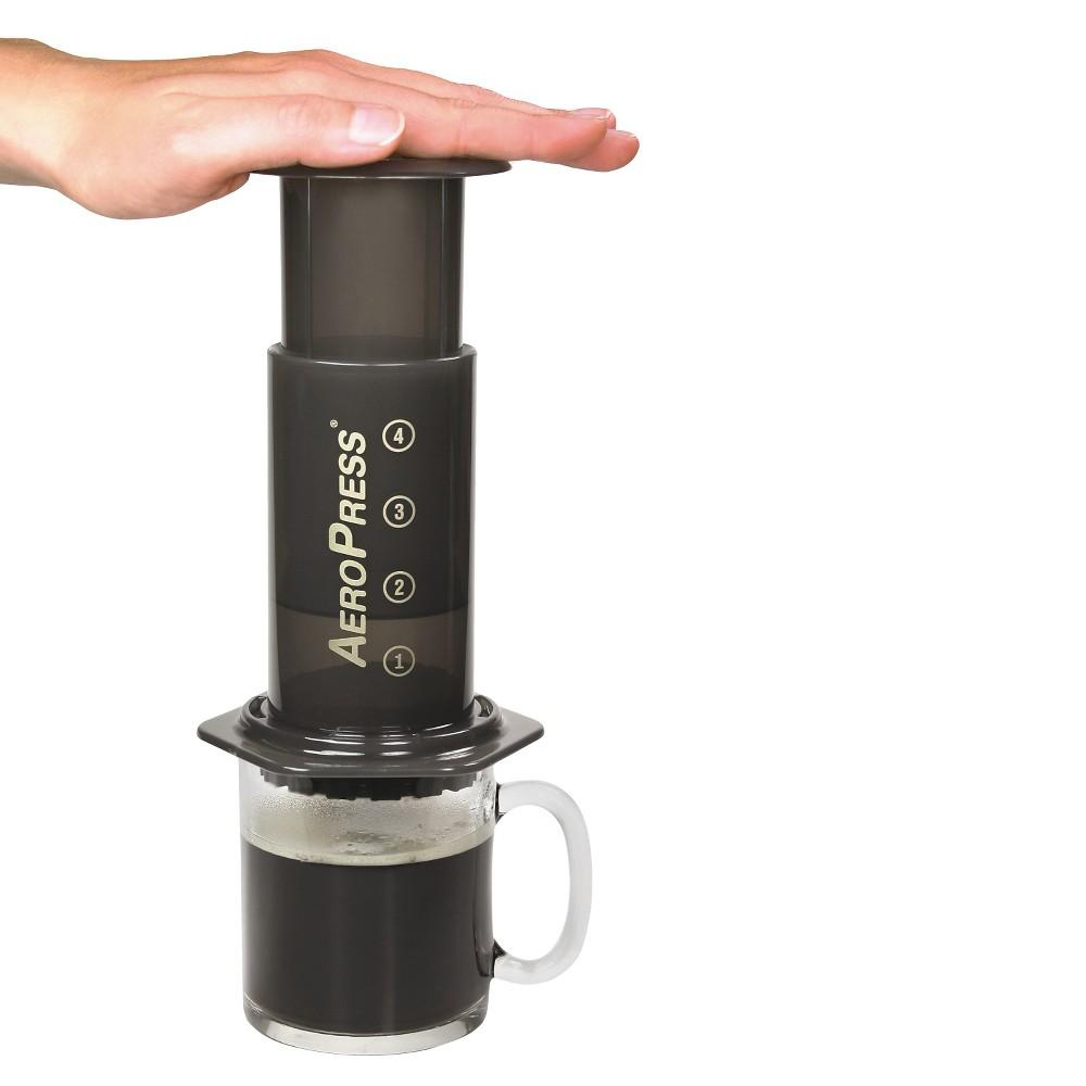 Image of AeroPress Coffee and Espresso Maker, Black