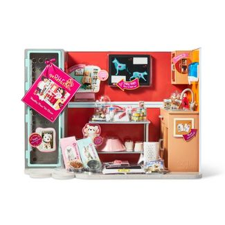 """Our Generation Healthy Paws Vet Clinic Playset for 18"""" Dolls"""