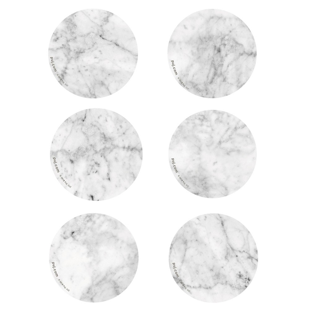Image of PUJ Baby Bath Cling Bath Treads - Marble
