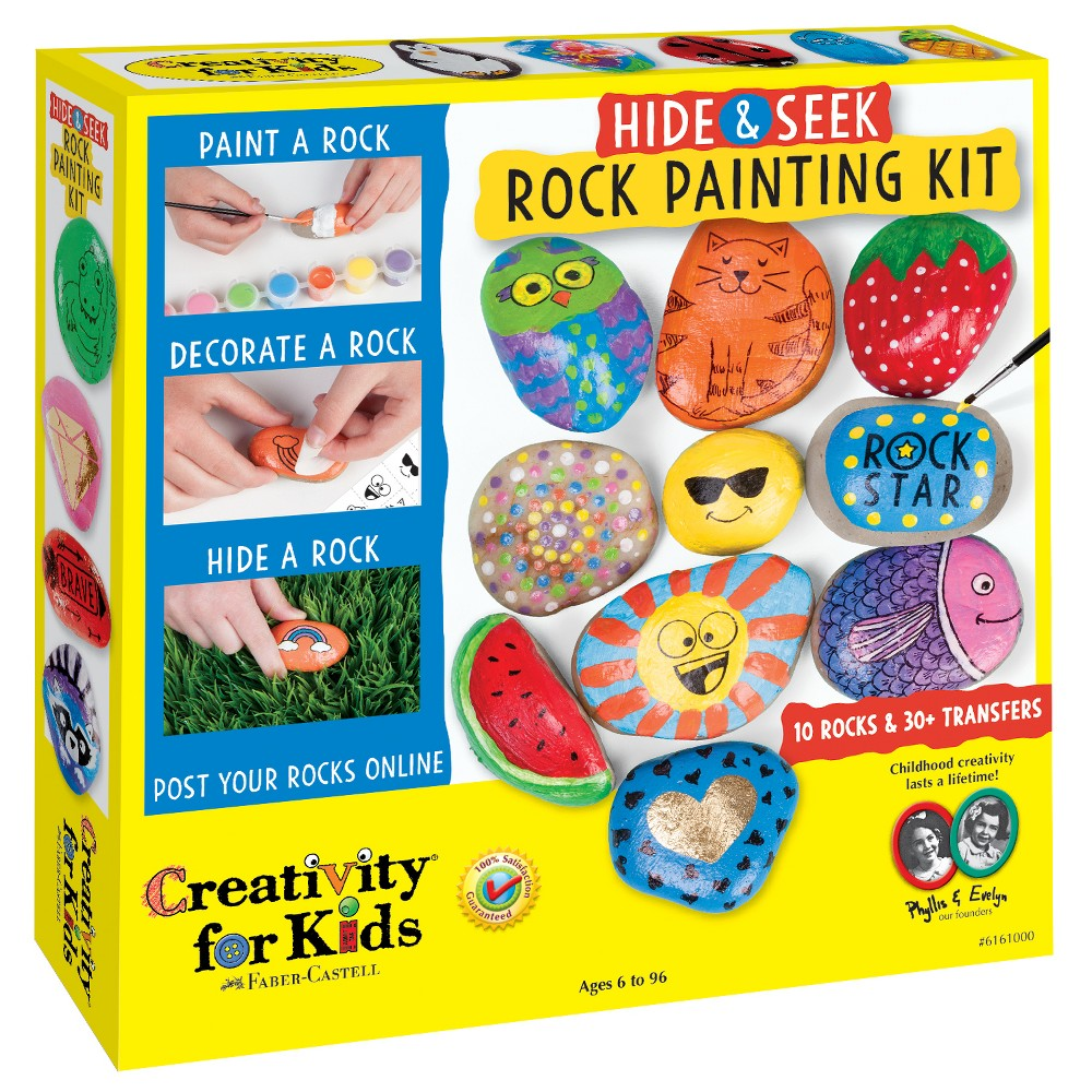 Image of Hide & Seek Rock Painting Kit - Creativity for Kids