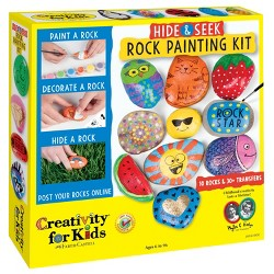 Hide & Seek Rock Painting Kit - Creativity for Kids