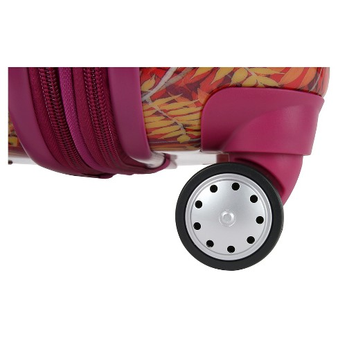 9bdd926c36ad J World Taqoo Polycarbonate Carry On Art Suitcase - Dusk