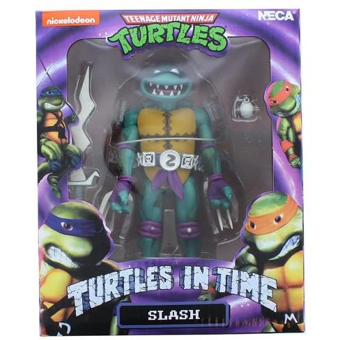 Neca Teenage Mutant Ninja Turtles Turtles In Time 7 Inch Action Figure   Slash - image 1 of 3