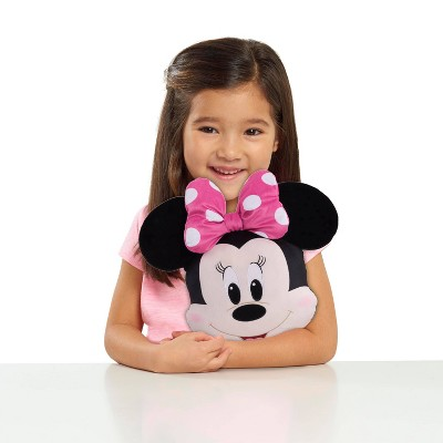 Minnie Mouse Character Head Plush