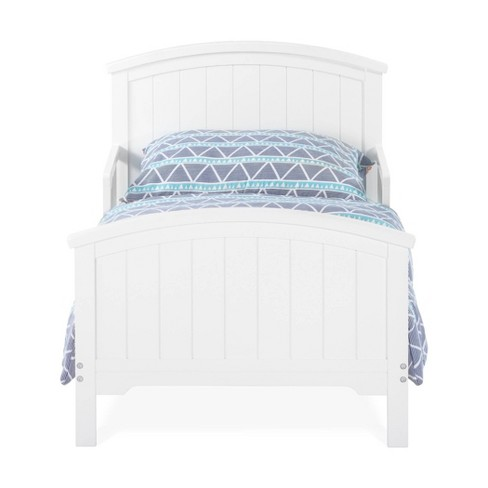 Forever Eclectic Hampton Toddler Bed - Matte White - image 1 of 4