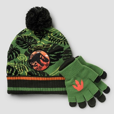 5dba5b26d Boys' Jurassic World Hat and Gloves Set - Green One Size