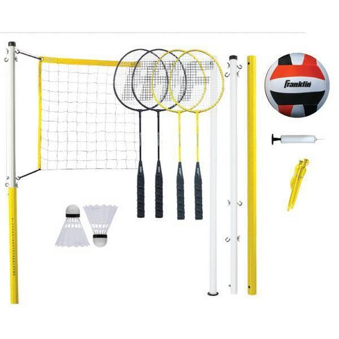 Franklin Sports Family Badminton & Volleyball Set - image 1 of 2