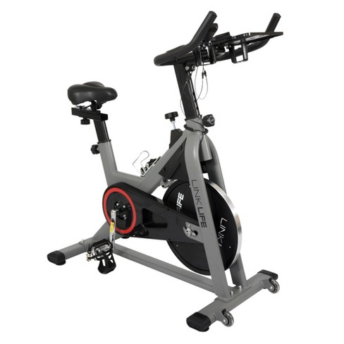 Living Essentials ESMBK0146 Magneto Magnetic Resistance Training Exercise Cycling Indoor Stationary Bicycle Bike with LCD Display, Black - image 1 of 4