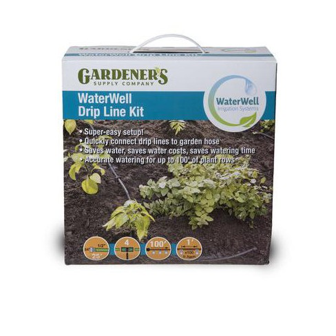 Gardener's Supply Company WaterWell Garden Watering and Irrigation System Drip Line Kit - Gardener's Supply Company - image 1 of 4