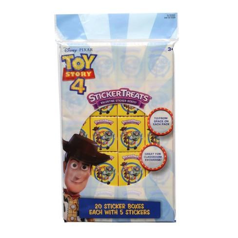 Disney Toy Story 4 20ct Valentine Sticker Treats - image 1 of 1