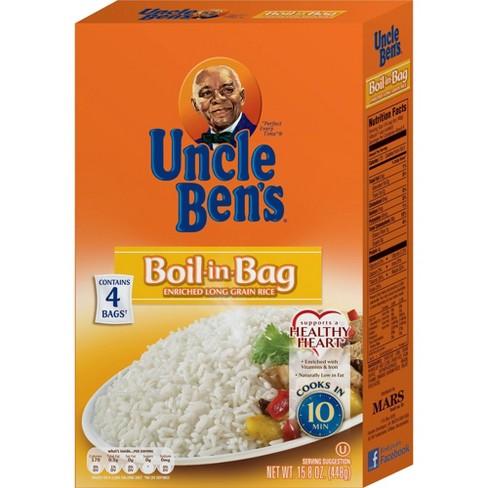 Uncle Ben's Boil-in-Bag White Rice - 15.8oz - image 1 of 4