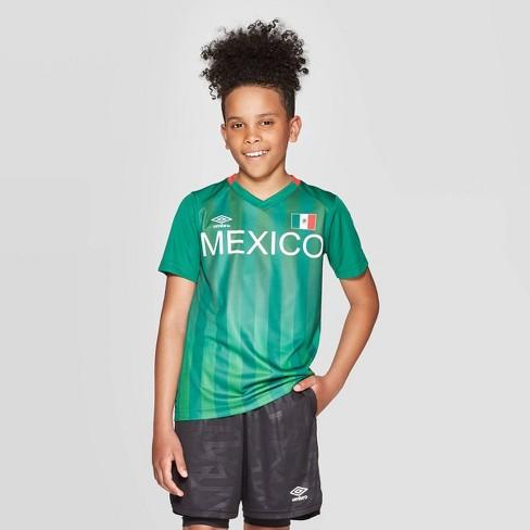 395507407 Umbro Boys' Mexico Soccer Jersey - Green : Target