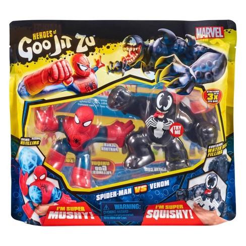Heroes of Goo Jit Zu Marvel Versus Pack - Spider-Man vs. Venom - image 1 of 4