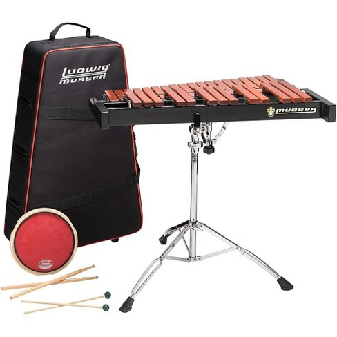 Musser Xylophone Kit 2.5 Octave With Pad,Stand,Bag - image 1 of 3