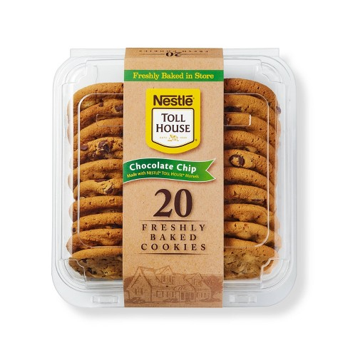 Nestle Toll House Chocolate Chip Cookies - 20ct - image 1 of 3