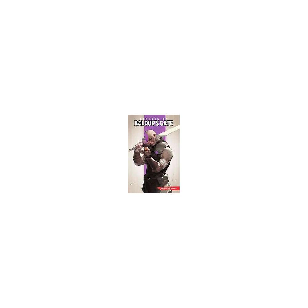 Dungeons & Dragons Legends of Baldur's Gate (Paperback) (Jim Zub)