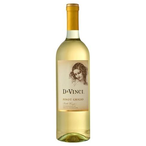 DaVinci Pinot Grigio White Wine - 750ml Bottle - image 1 of 3