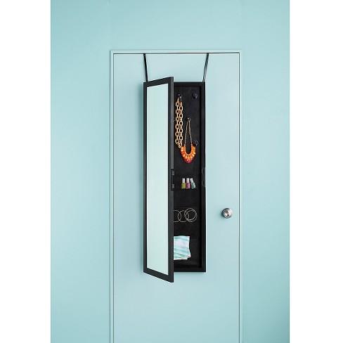 Storage Mirror Black Room Essentials Target