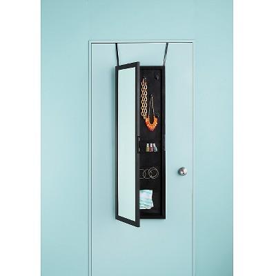 Genial Storage Mirror Black   Room Essentials™