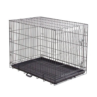 Prevue Pet Products Home On-The-Go Single Door Dog Crate - Black