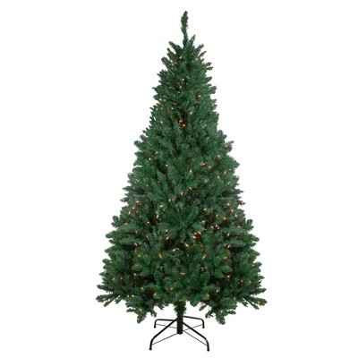 Northlight 7.5' Pre-Lit Madison Pine Artificial Christmas Tree - Warm White LED Lights