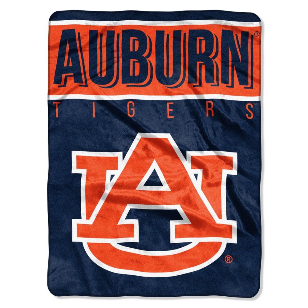 NCAA Auburn Tigers The Northwest Company Raschel Throw