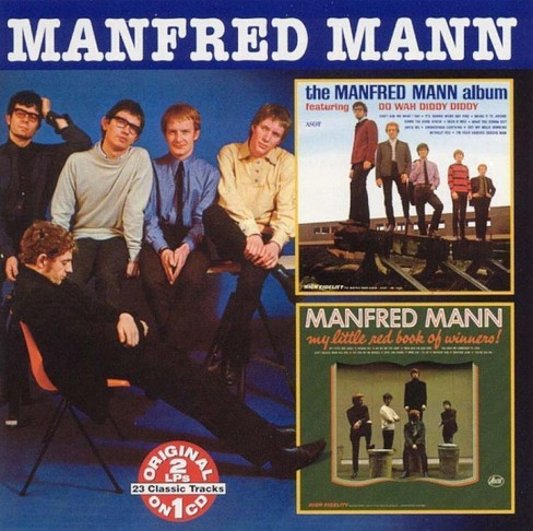 Manfred mann - Manfred mann album/My little red book (CD) - image 1 of 1