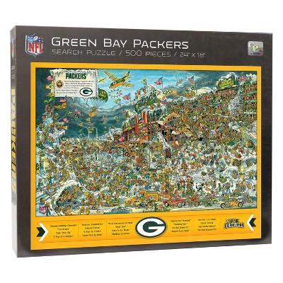 Green Bay Packers Joe Journeyman Find Joe Puzzle 500pc