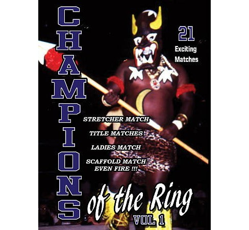 Champions Of The Ring:Vol 1 (DVD) - image 1 of 1