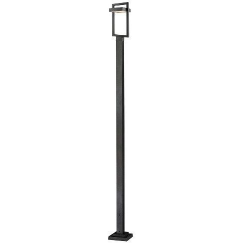 """Z-Lite 566PHBS-536P-LED Luttrel 117-5/8"""" Tall Integrated LED Outdoor Single Head Post Light - image 1 of 1"""