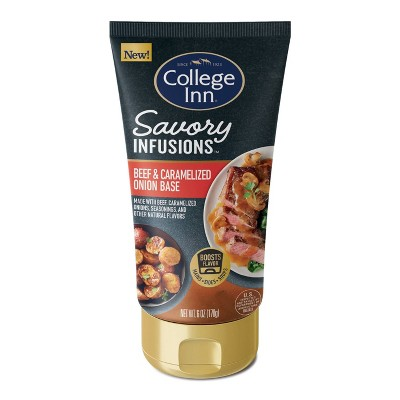 College Inn Savory Infusions Beef and Carmelized Onion Base - 6oz