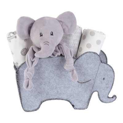 My Tiny Moments Welcome Baby Shaped Gift Set - Elephant 5pc