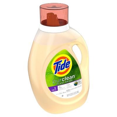 Tide Purclean Honey Lavender Laundry Detergents - 100oz