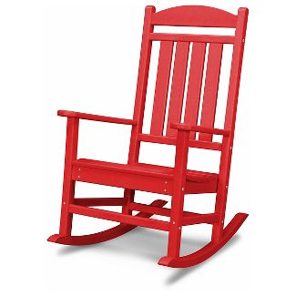 POLYWOOD Presidential Rocker - Red