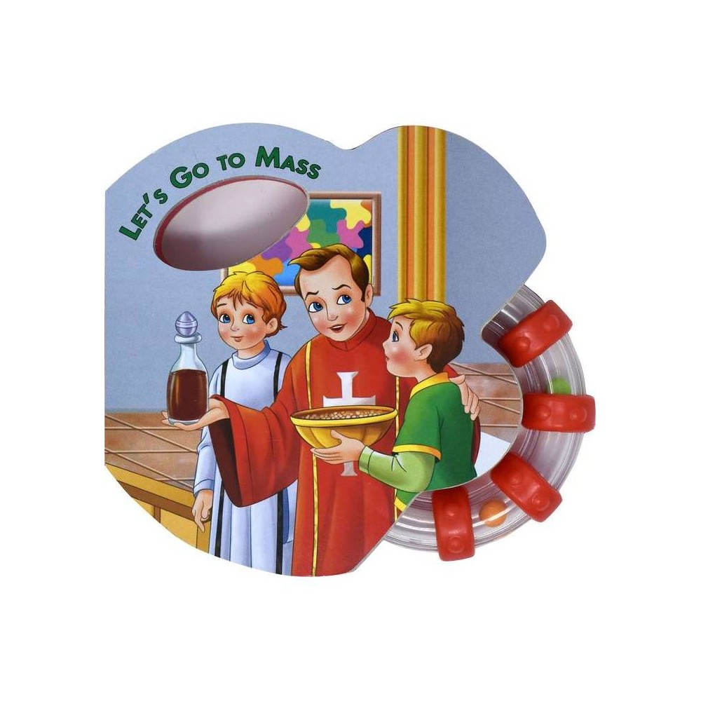 Let S Go To Mass Rattle Book St Joseph Rattle Board Books Board Book