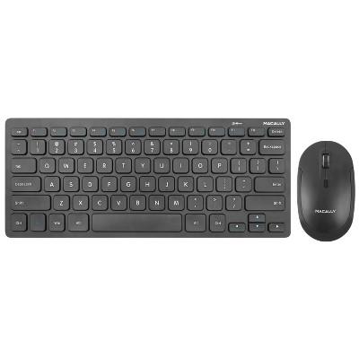 Macally RF Mini Wireless 78 Keys With 12 Multimedia Shortcuts Keyboard + Mouse Combo