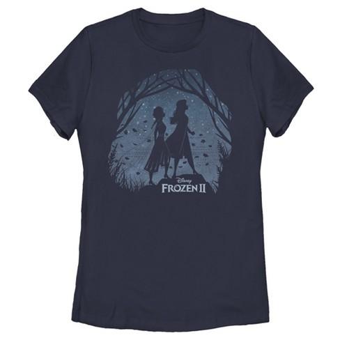 Women's Frozen 2 Sister Shadows T-Shirt - image 1 of 3